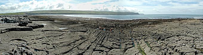 Doolin shore at very low tide