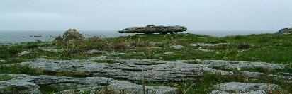 Stone Slab on Doolin coastline